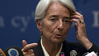 Die Chefin des Internationalen Währungsfonds, Christine Lagarde (Foto: dapd)