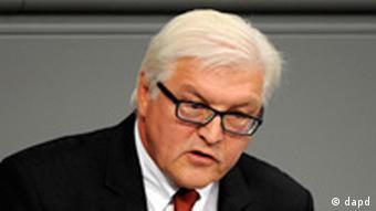 Frank-Walter Steinmeier SPD Fraktionschef