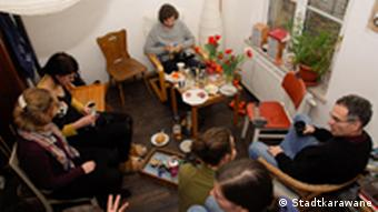 Участники проекта Stadt Karawane