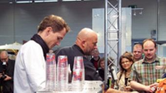 Show Kaffeewelt in der Messe Eat&Style Cologne