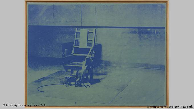 Andy Warhol: Big Electric Chair, 1967 (© Artists rights society, New York)