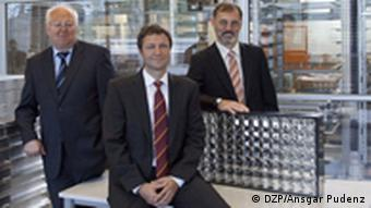 Rasch, Lerchenmüller and Bett Copyright: DZP, Ansgar Pudenz