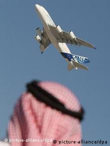 Airbus A380 на авіасалоні у Дубаї