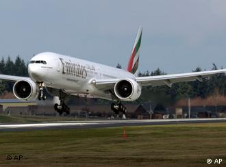 Boeing 777 авіакомпанії Emriates