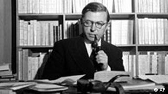 Jean-Paul Sartre Jahrestag Frankreich