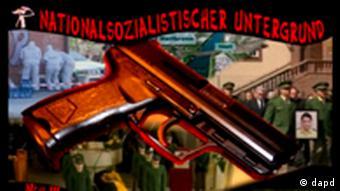 Кадр из видеофильма, сделанного членами неонацистской группировки