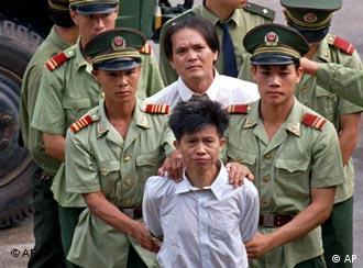 8000 Menschen werden in China jährlich hingerichtet - oft ohne Gerichtsverfahren