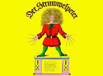 Обложка оригинального издания книги ''Struwwelpeter''