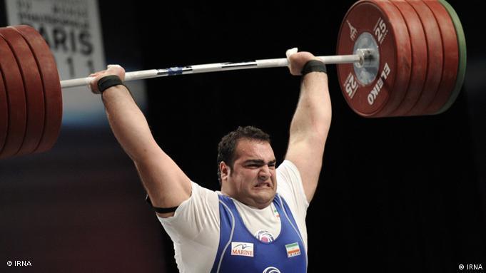 بهداد سلیمی قهرمان المپیک در وزنهبرداری