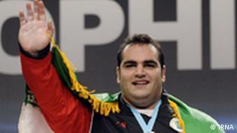 بهداد سلیمی عضو تیم وزنهبردای ایران در المپیک ۲۰۱۲