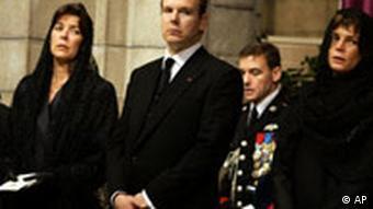 Beerdigung von Fürst Rainier in Monaco