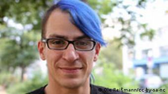 Mitglied der Piratenpartei und Revolutionshelfer Stephan Urbach (Foto: Ole Reißmann)