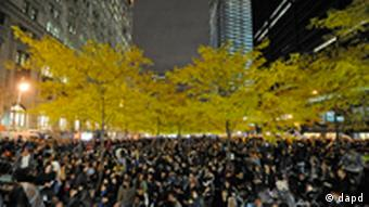 Occupy Wall Street Protest nach Räumung in New York