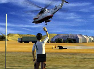 Escena del juego Food Force.