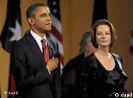 奥巴马与澳大利亚总理吉拉德