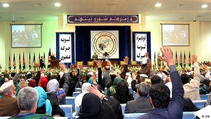 Afghanistan Loya Jirga in Kabul Erster Tag Flash-Galerie (DW)