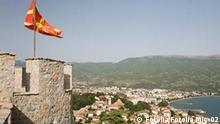 Stadtansicht, Burg und Festung, Ausblick auf eine Bucht in Mazedonien. tsar samoils fortress and ohrid © Fotolia Mic-02 #36264198