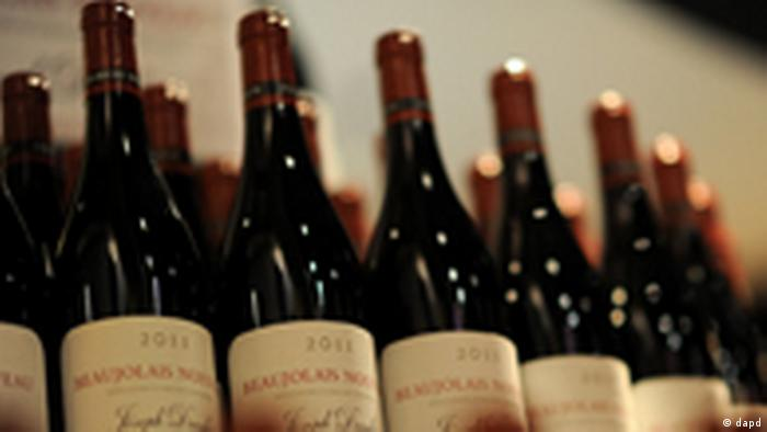 Weinflaschen Joseph Drouhin Beaujolais Nouveau