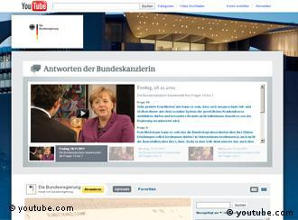 Screenshot Merkel-YouTube-Kanal (Foto: youtube.com)