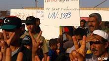 Nato Bombenangriff in Libyen