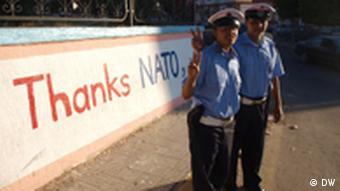 Libyen policemen