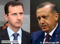 رجب طیب اردوغان، نخست وزیر ترکیه و بشار اسد، رئيس جمهوری سوریه