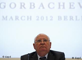 Михаил Горбачев на пресс-конференции в Берлине 21.11.2011