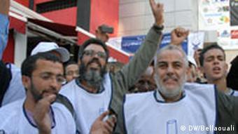 Politiker der PJD (Foto: DW/Bellaouali)