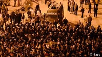 Ägypten Kairo Tahrir Platz Demonstration