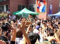 支持昂山素季的缅甸民众