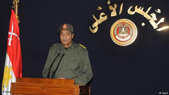 Mohamed Hussein Tantawi Vorsitzender des Obersten Rats der Streitkräfte in Ägypten