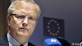 EU Economic and Monetary Affairs Commissioner Rehn