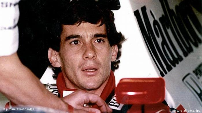 Flash-Galerie Formel 1 Legenden Ayrton Senna (picture alliance/dpa)