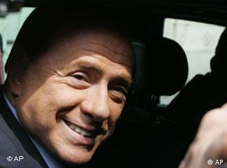 Bald nichts mehr zu lachen? Italiens Ministerpräsident Berlusconi