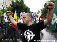 Mitglied der rumänischen rechtsextremistischen Partei