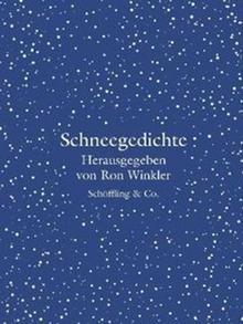 Buchcover Ron Winkler (Hg.): Schneegedichte (Schöffling & Co.)