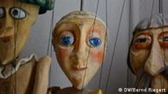 Puppets at the National Puppet Theater in Maribor