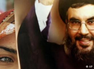 حسن نصرالله، رهبر حزب الله لبنان، اولین مهمان برنامهی آسانژ بود.