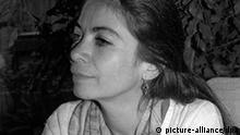 Die mexikanische Autorin Carmen Boullosa (jüngeres Archivbild) erhält am 29. September 1996 den Literaturpreis, mit dem alljährlich Schriftsteller aus der Dritten Welt in Frankfurt am Main ausgezeichnet werden. (zu dpa-Lit.-Dienst vom 22.7.1996)