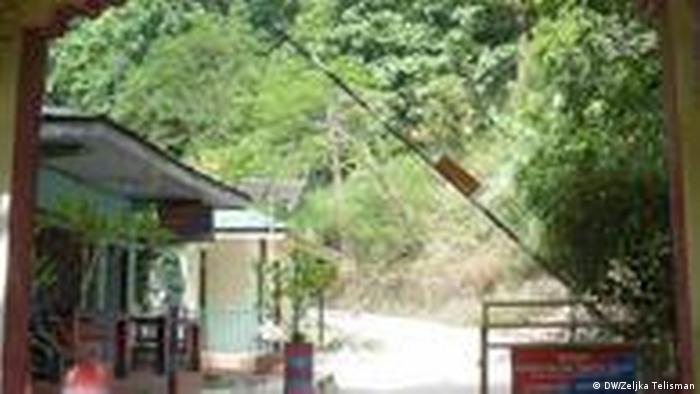 Grenzübergang Sikkim (DW/Zeljka Telisman)