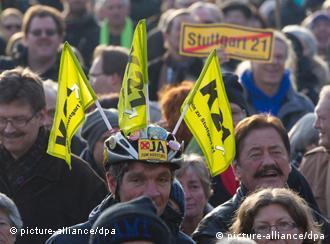 Противники проекта Штутгарт 21