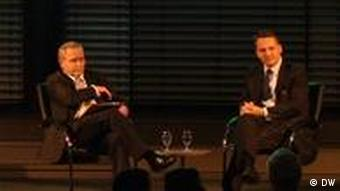 Radoslaw Sikorski und Guido Westerwelle Berlin Allianz-Forum