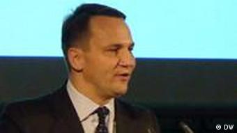 Radoslaw Sikorski und Guido Westerwelle Berlin Allianz-Forum