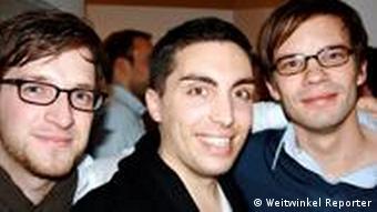 Основатели журналистского бюро Weitwinkel Reporter