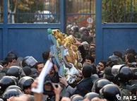 حمله به سفارت برتیانیا در تهران به دلیل نقص کنوانسیون وین، از سوی سازمان ملل محکوم شد
