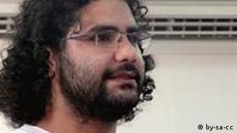 علا عبدالفتاح، بلاگر زندانی مصری، یکی از اعضای اصلی کمپین نه به دادگاههای نظامی در مصر