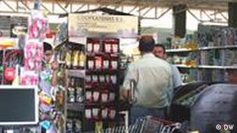 Supermarkt der Kooperative Coope Atenas