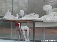 Arte na vitrine: a associação de ateliês Milchhof, no bairro Prenzlauer Berg