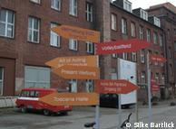 O 'European Creative Center', no bairro Weissensee