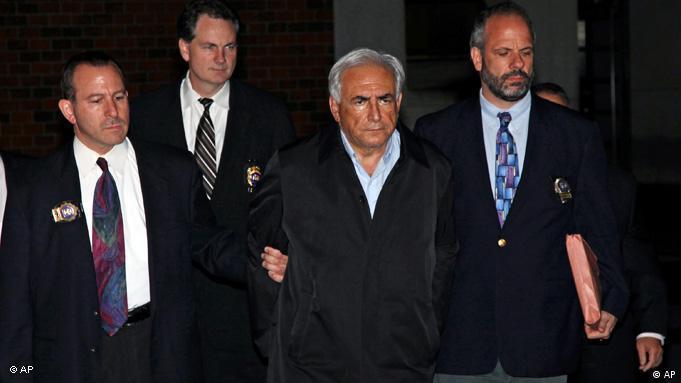 Dominique Strauss-Kahn following his 2011 arrest